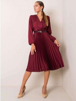 pol pl Bordowa sukienka Melody 354508 1