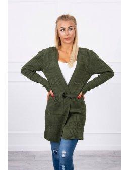 eng pl Two knit sweater khaki 18241 3 (1)