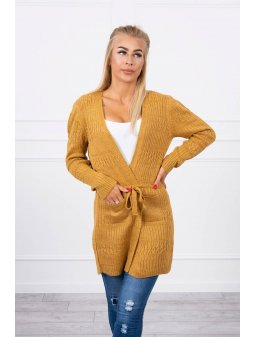 eng pl Two knit sweater mustard 18240 3