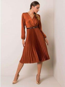 pol pl Jasnobrazowa sukienka Melody 354509 1
