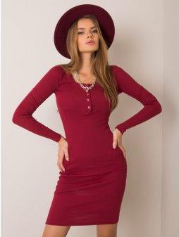 pol pl Bordowa sukienka Mercy RUE PARIS 354805 1