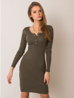 pol pl Khaki sukienka Mercy RUE PARIS 354811 2 (1)