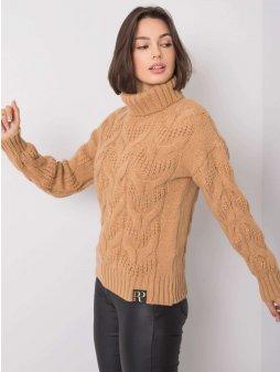 pol pl Bezowy sweter Memphis RUE PARIS 355172 2