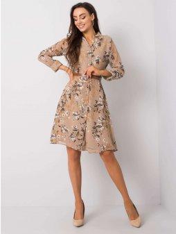 pol pl Bezowa sukienka Pascuala RUE PARIS 358556 2 (1)