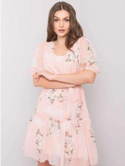pol pl Brzoskwiniowa sukienka Emily 360322 2