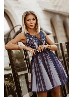 Dámské šaty Maceška fialové