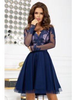 Dámské šaty  Komtesa modré