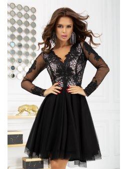 Dámské šaty  Komtesa černé