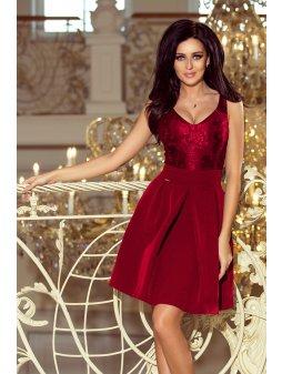 208 3 sukienka z koronkowym de 8600