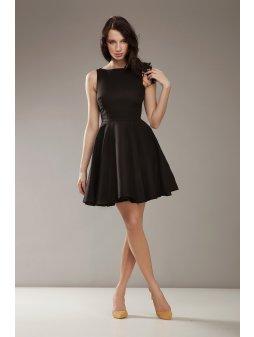 Dámské šaty Luxe černé (Velikost 36)