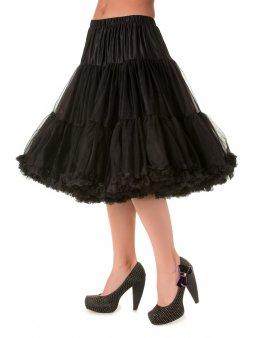 Banned spodnička pod šaty černá 58 cm (Velikost M/L)