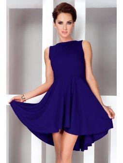 Dámské šaty HOT Royal Modré (Velikost L)