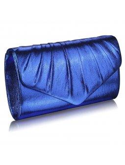 LS Fashion společenská kabelka LSE0068 modrá