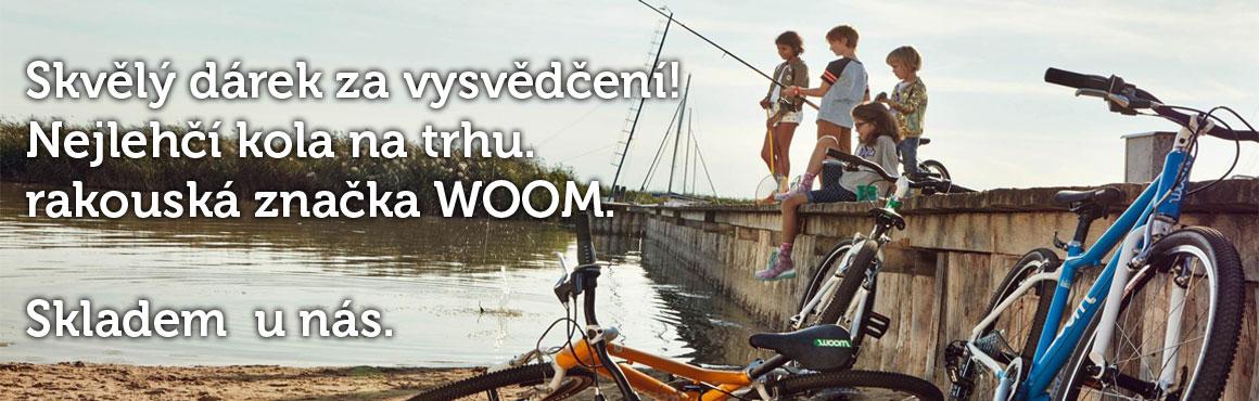 Ultra lehká dětská kola WOOM