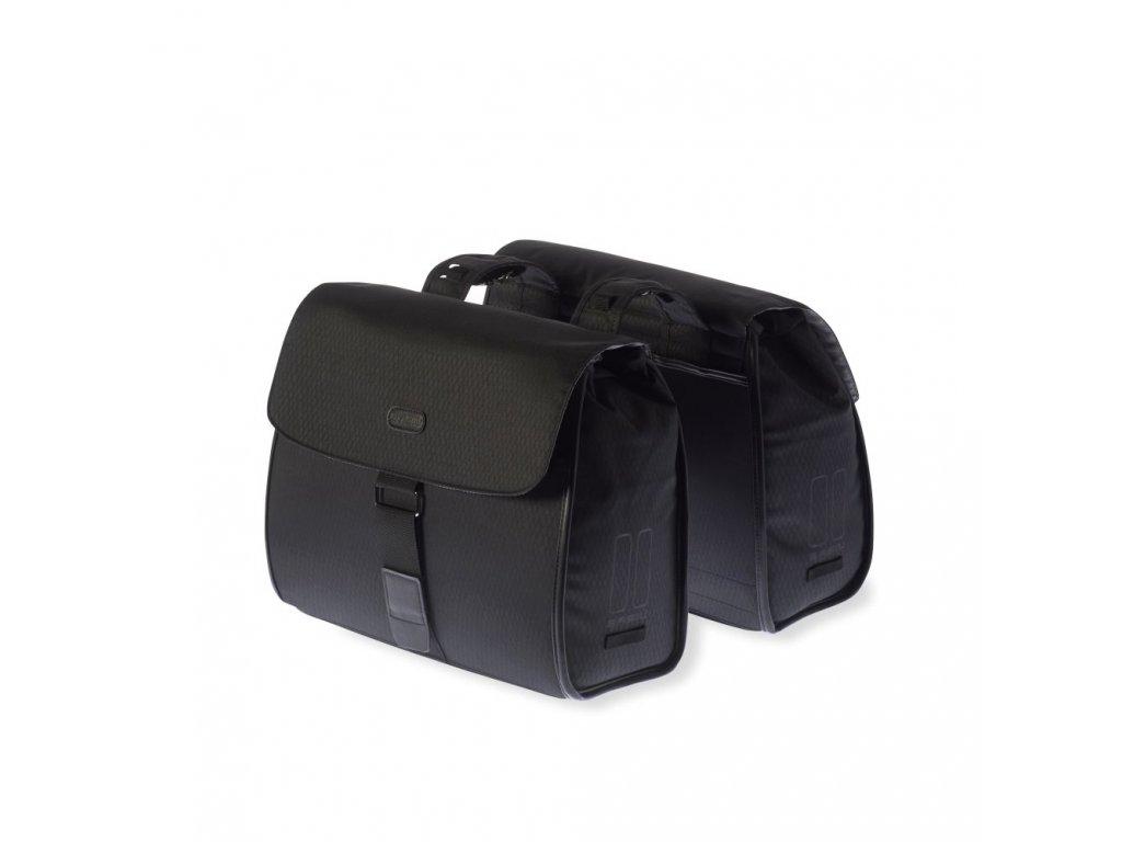 Brašna na nosič Basil Noir Double Bag oboustranná