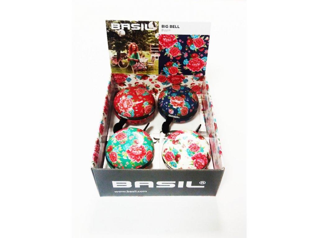 Zvonek Basil Big Bell Bloom box mix 4 kusy
