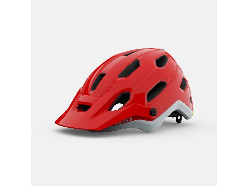 giro source mips dirt helmet matte trim red hero