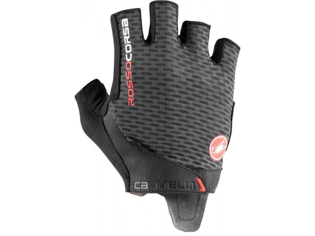 panske cyklisticke rukavice castelli 21024 rosso corsa pro 2 v