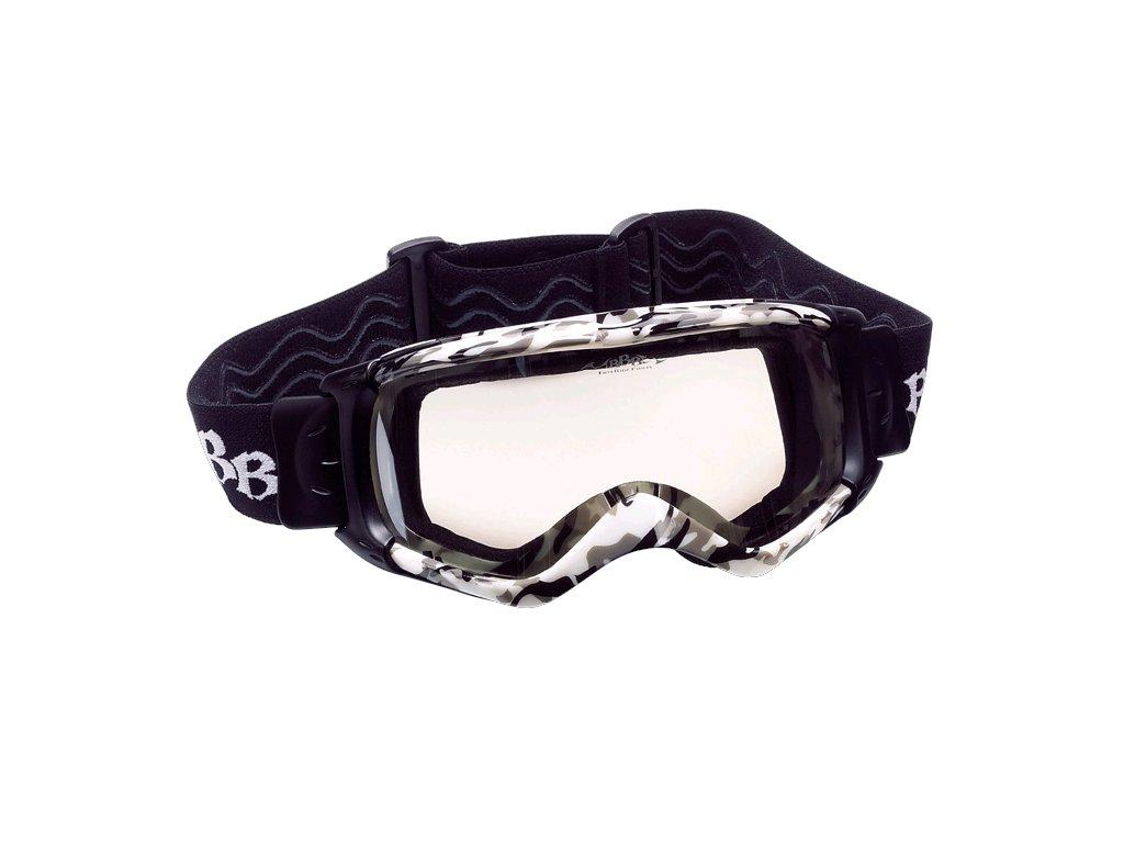 Cyklistické brýle BBB BSG-41 DirtView army