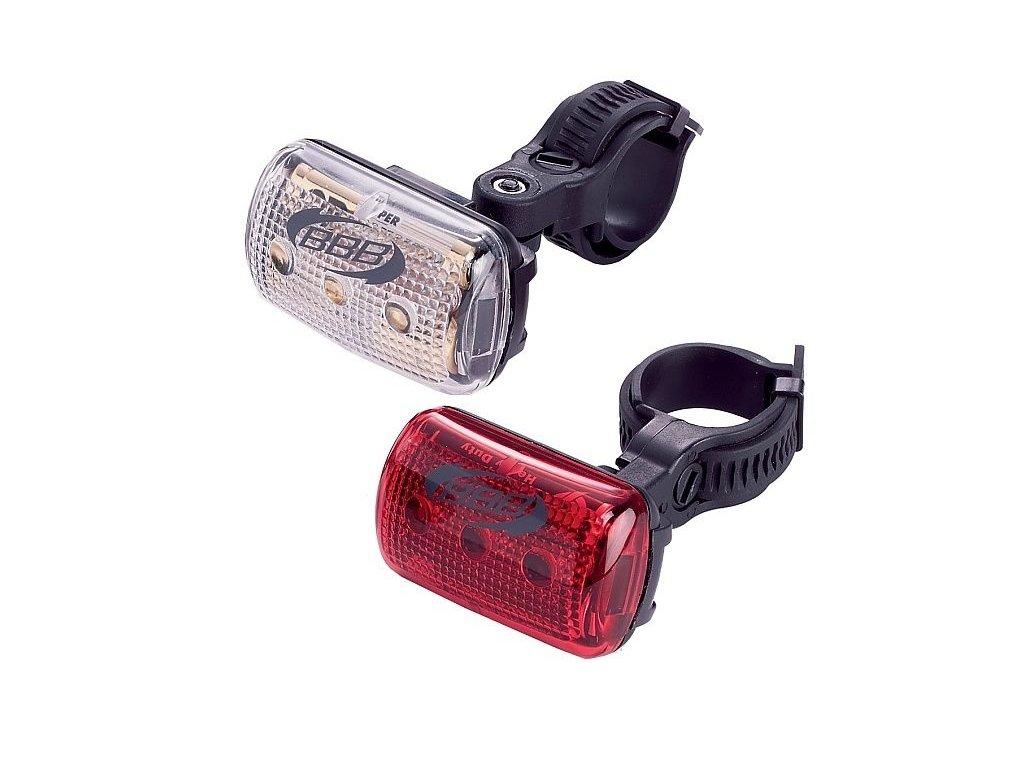 Světlo přední+zadní BBB BLS-53 CombiLaser