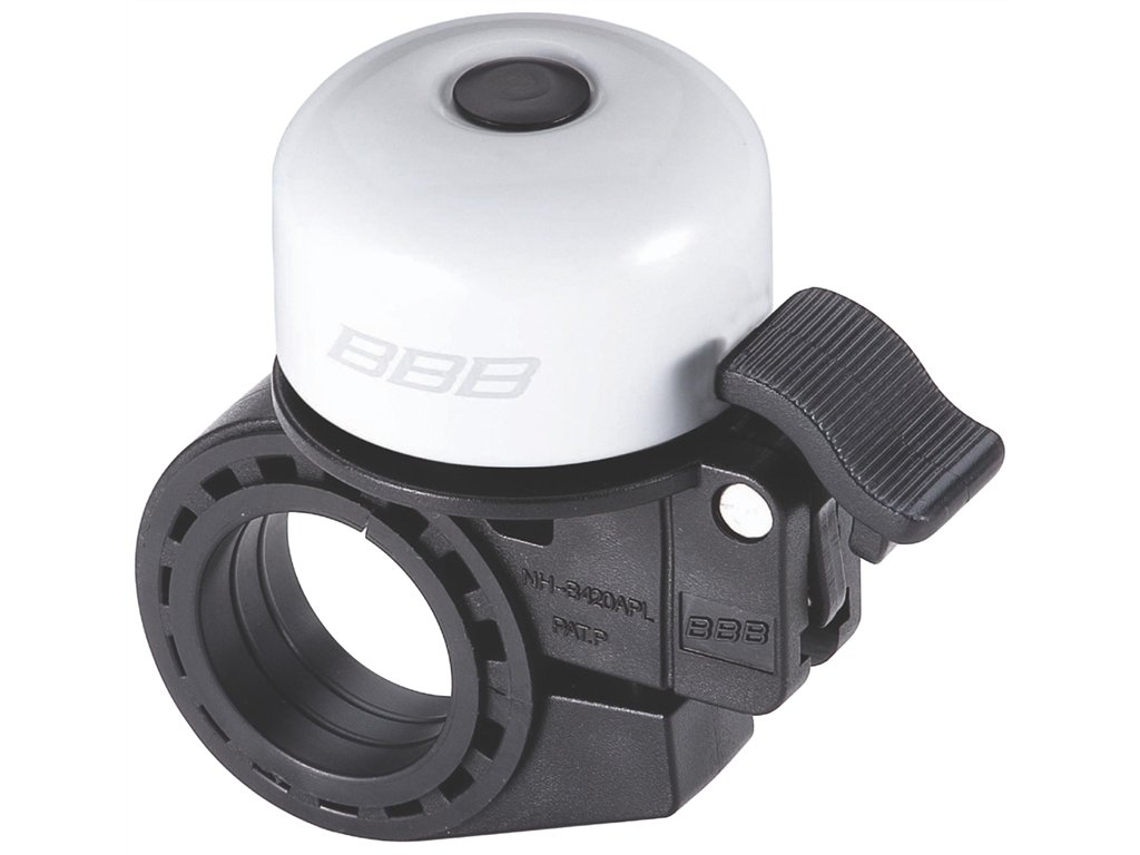 Zvonek na kolo BBB BBB-11 Loud & Clear bílá
