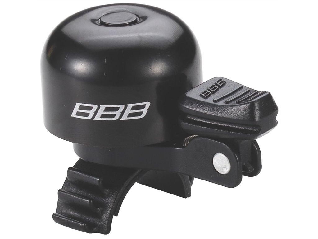 Zvonek na kolo BBB BBB-15 Loud & Clear Deluxe černá