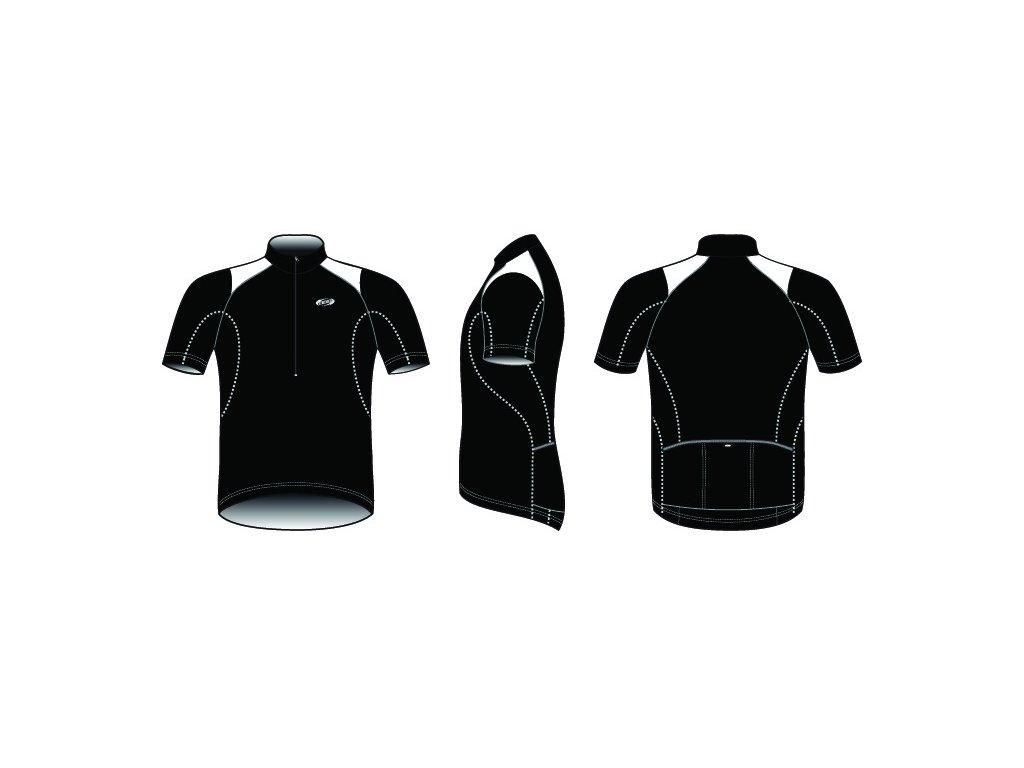 Pánský dres BBB BBW-105 ComfortFit černý