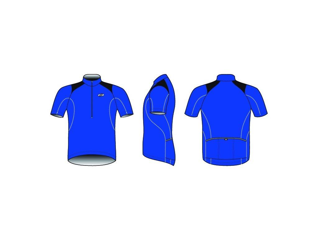 Pánský dres BBB BBW-105 ComfortFit modrý
