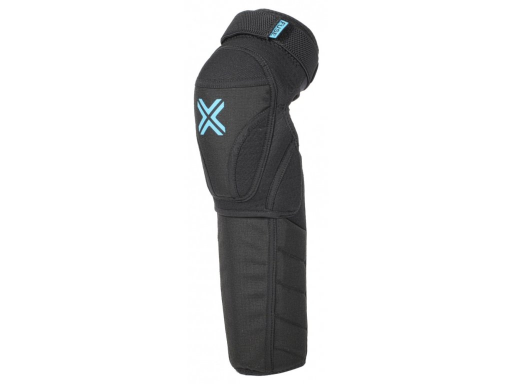 fuse echo 100 knee shin combo pad black