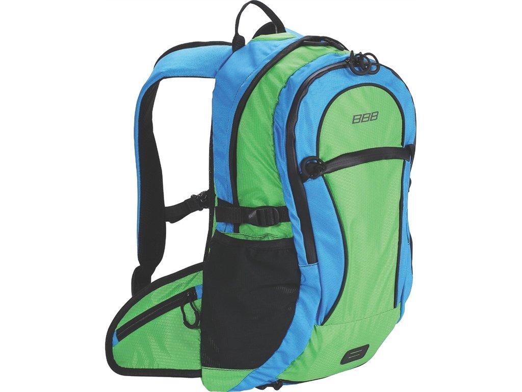Cyklobatoh BBB BSB-121 TrailPacker zeleno/modrá