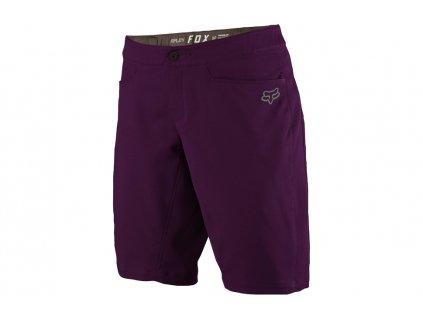 fox clothing womens ripley baggy short purple EV295196 4000 9