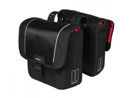 Brašna na nosič Basil Sport Design Double černá