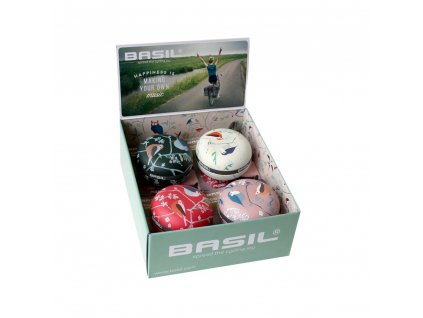 Zvonek Basil Big Bell Wanderlust  Box mix 4 kusy