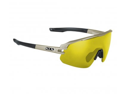 Sluneční brýle KLS Cyclone HF, Sandstorm Grey