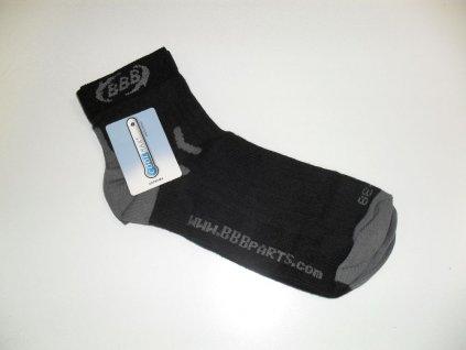 Ponožky BBB BBW-13 Highfeet černé