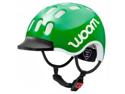 woom helmet green slant kopie