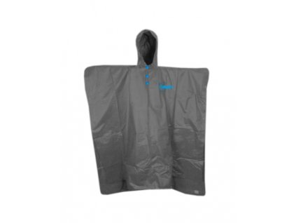 1 Poncho grey blue