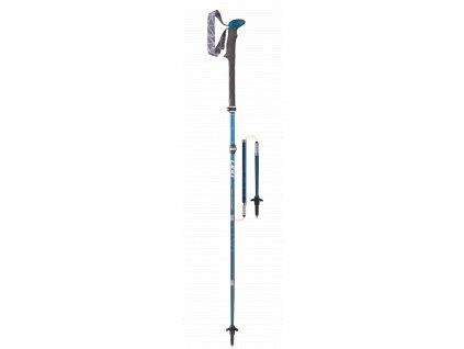 Hole Leki Micro Vario Carbon blue/white 110-130cm trekking