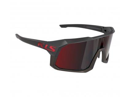 Sluneční brýle KLS DICE II black
