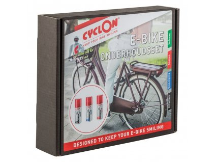 Sada pro elektrokola Cyclon E-bike Collection Box