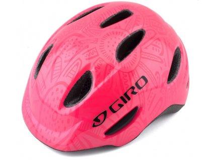 giro helmet giro scamp xs pink pearl