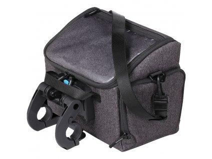 bbb 2973063901 handlebar bag frontpack grey blend 2 916591