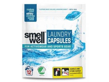 5d6eb8bb smellwell kapsle na prani 12 ks modra