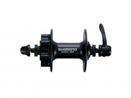 Náboj přední Shimano HB-M475,  Disk 6děr