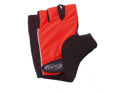 lrg cyklisticke rukavice bbb bbw 17 classic cervene