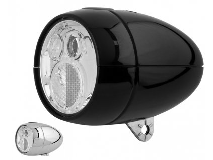 Přední světlo na kolo diodové Retro Classic Cycle