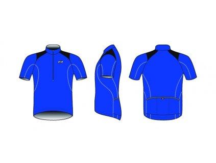 Dres BBB BBW-105 ComfortFit modrý