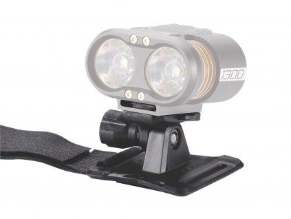 Držák světla na přilbu BBB BLS-70 Helmetnount