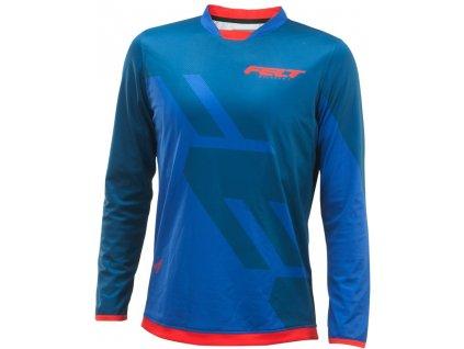 FELT tričko MTB dl.rukáv 2017 modro-červené