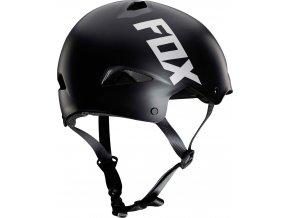 fox flight sport helmet black FO20184001 PAR rear